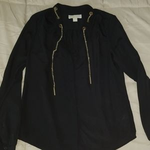 Michael Kors Stylish Black Blouse , S